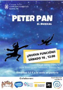 Segunda función: Peter Pan, el musical