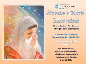 Novena a María Inmaculada